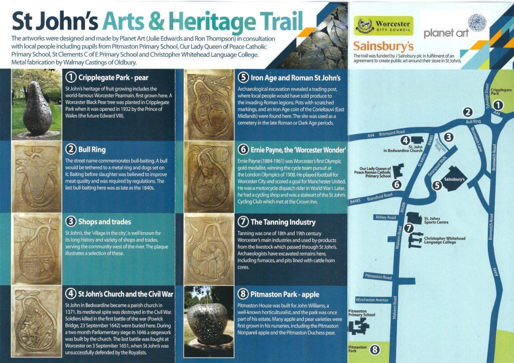 St John's Arts & Heritage Trail